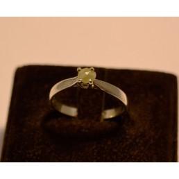 Inel din argint cu diamant