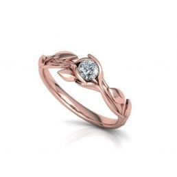 Inel de logodna cu diamant 0.25ct