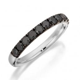 Verigheta cu diamante negre