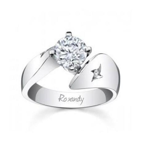 Inel de logodna cu diamant 0.30ct