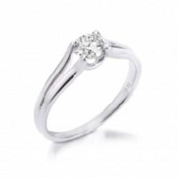 inel de logodna cu diamant 0.25ct.